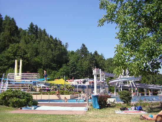 Gastehaus Weinschroterhof: The waterpark above Trittenhein and Leiwen in the neighbourhood
