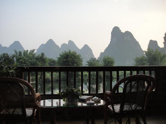 หยางซั่ว เมาเท่น รีทรีท: View from my room...