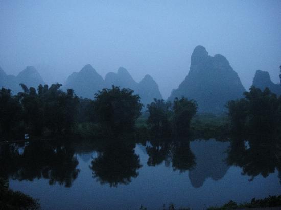 หยางซั่ว เมาเท่น รีทรีท: View from my room at sunrise...