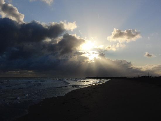 Ouistreham, France: Spiaggia
