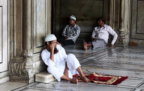 Friday Mosque (Jama Masjid): descanso