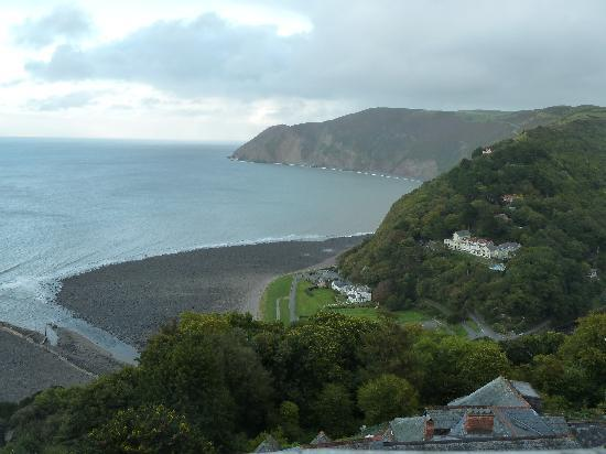 Bay Valley of Rocks Hotel: The view from Room 77
