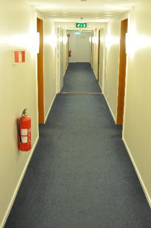 Thon Hotel Hallingdal: Hotel Thon in Al 3rd floor hallway