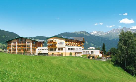 Das Ferienhotel Fernblick inmitten der Berge in Montafon