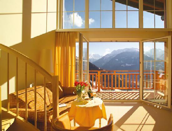 Ferienhotel Fernblick: Appartment im Hotel mit Blick in die Berge