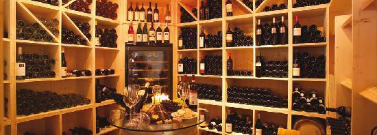 Die Weinecke im Ferienhotel Fernblick