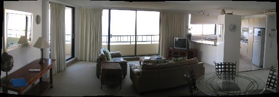 รีเจ้นท์อพาร์ทเม้นส์: Main living area