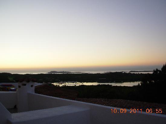 Hotel Valdiola : L' alba dalla camera...