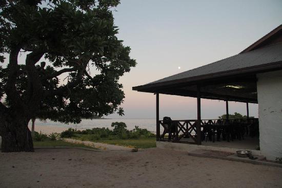 Matafonua Lodge: Restaurant - managers residence