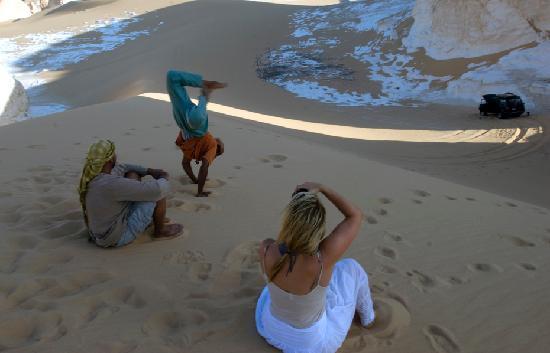 White Desert: www.desert-safari-egypte.com