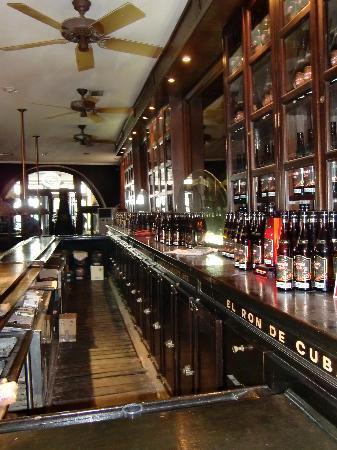 Museo del Ron Havana Club: Die Bar im Museum