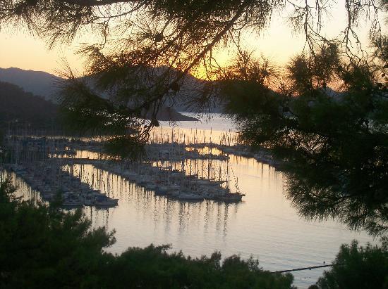 TUI BLUE Marmaris: sun set from room 429
