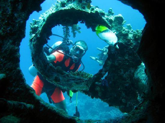 TGI Diving El Gouna: Abu Nuhas wreck dive