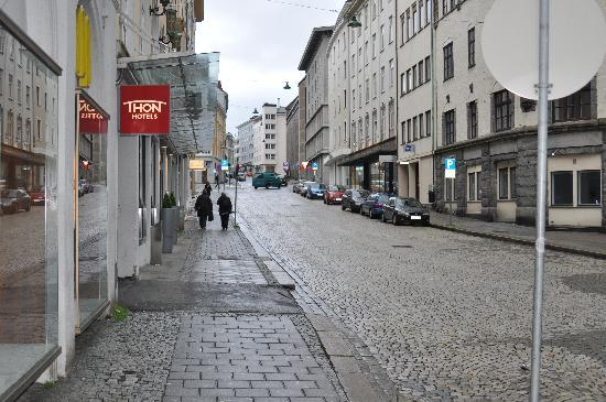 Thon Hotel Bristol Bergen - street view