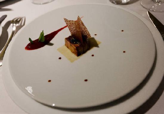 The Fat Duck: Roast Foie Gras