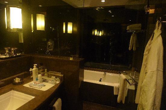 Fairmont Nile City: bathroom