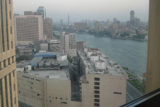 Fairmont Nile City: view from the window
