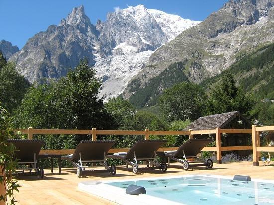 mini piscina Auberge de La Maison