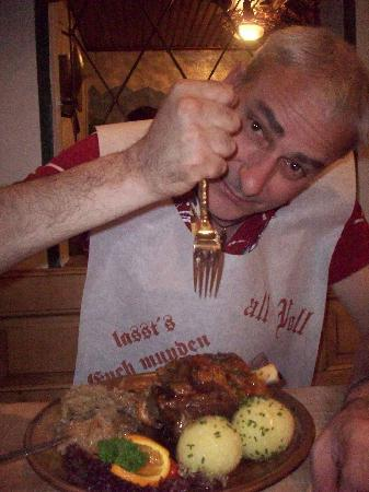 Gasthof Krone: Stinco con patate