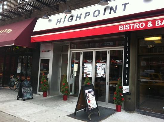 Highpoint Bistro & Bar: Highpoint what a great find!