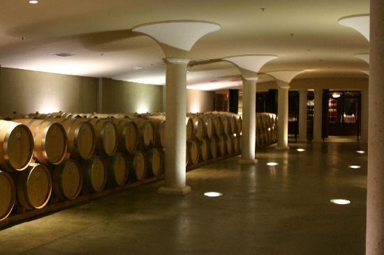 The Winery Restaurant at Peller Estates: The cellars of Peller
