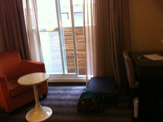 Wonstar Hotel - Ximen: The balcony