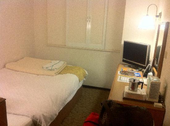 Matsumoto Tourist Hotel: シングル禁煙室