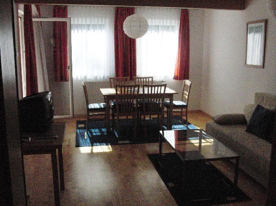 Hotel Liebnitzmuhle: Living room