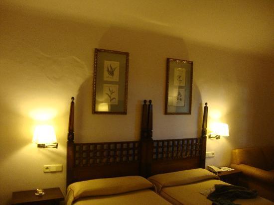 Parador de Albacete: el dormitorio muy amplio