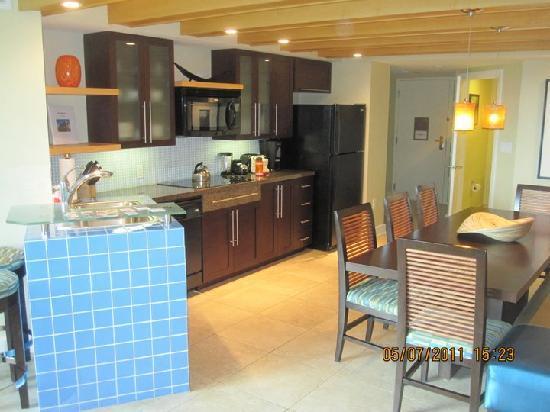 The Westin St. John Resort Villas: View of villa kitchen/dining