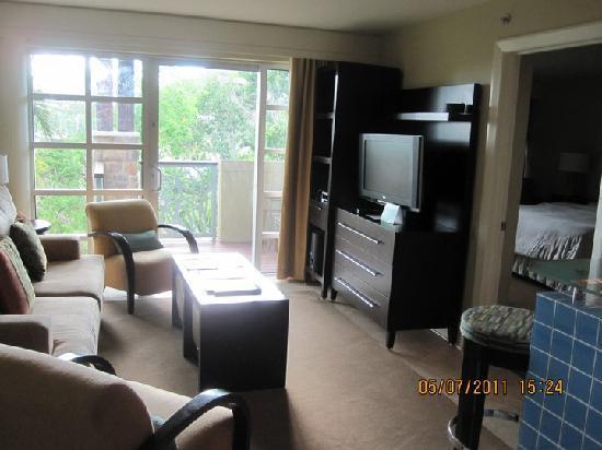 The Westin St. John Resort Villas: Villa living room