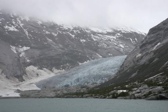 Nigardsbreen Glacier: Schlechtes Wetter am Nigardsbreen
