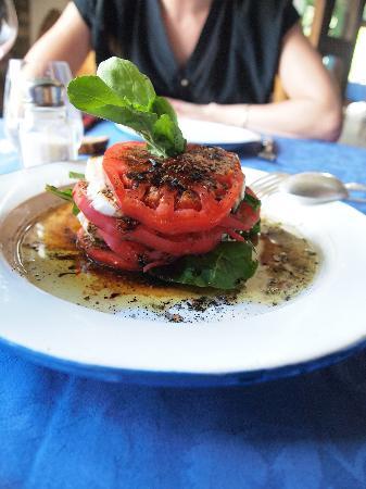 Caserio Ananda: Tomato & Mozzarella Salad