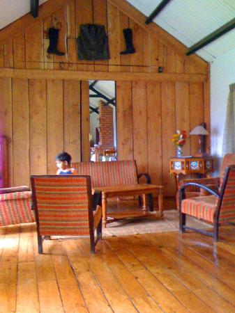 Destiny Farmstay: Lounge area