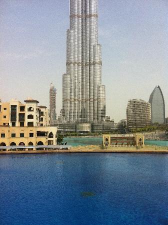 ดิแอดเดรสดาวน์ทาวน์ ดูไบ: Vista dalla piscina