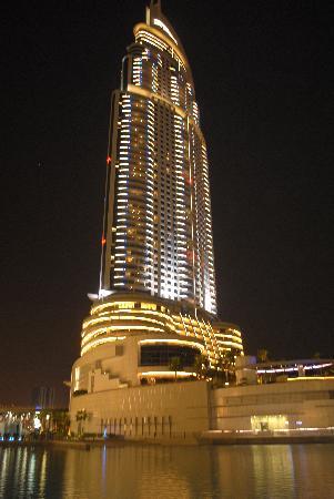 ดิแอดเดรสดาวน์ทาวน์ ดูไบ: L'Hotel alla sera