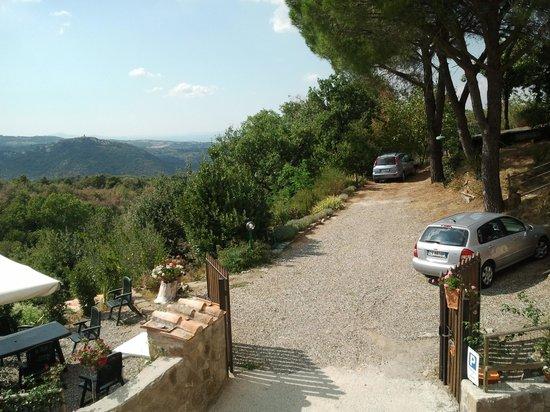Borgo Tepolini: vista dal primo piano