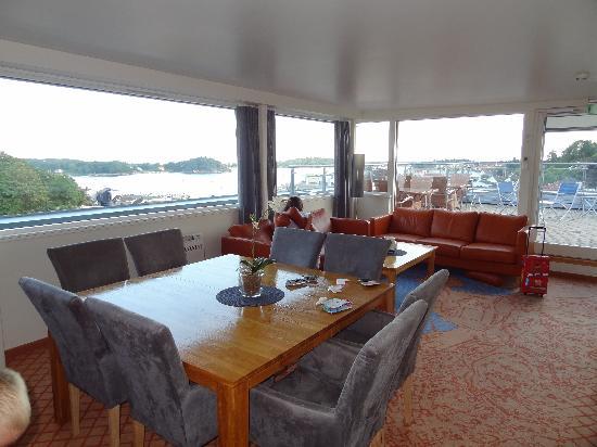 Scandic Grimstad: pièce à vivre+ vue