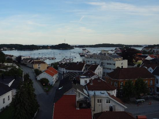 Scandic Grimstad: vue de la chambre