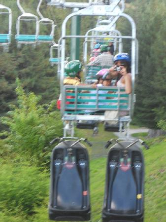 Skyline Rotorua: Not if your scared of heights