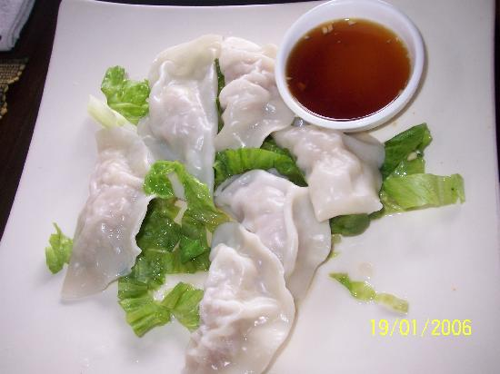 Luna Cafe Yangshuo: Wonton dumplings