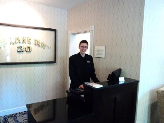 Fairfield Inn & Suites Keene Downtown: Justin Provides Great Service