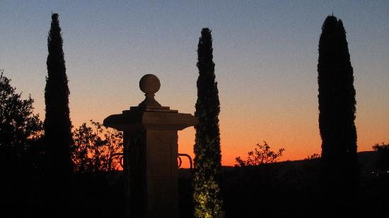 La Bastide de Soubeyras : Blick auf den Nachthimmel