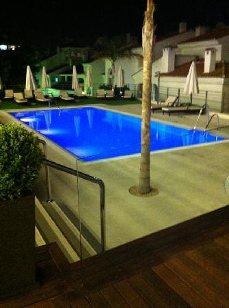Vincci Seleccion Aleysa Hotel Boutique & Spa: Pool at night