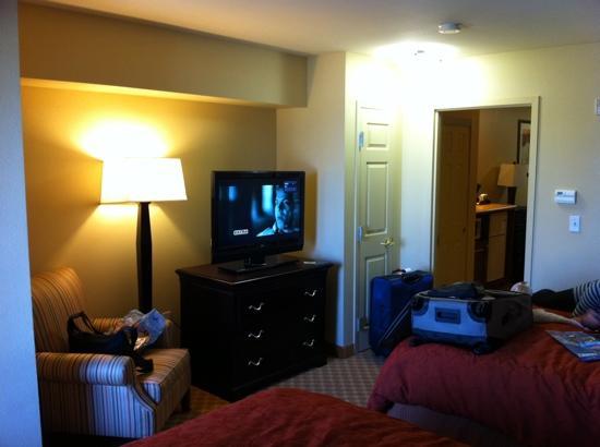 Country Inn & Suites by Radisson, Ontario at Ontario Mills, CA: Dormitorio
