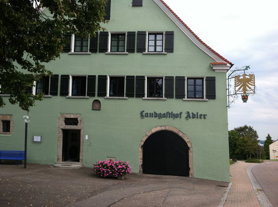 Landgasthof Adler. Rosenberg