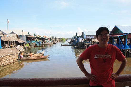 Happy Angkor Wat Tour: BUNLEAT @ floating village
