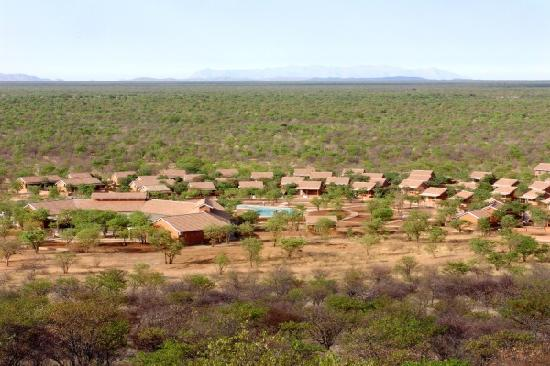 Khorixas, Ναμίμπια: Damara Mopane Lodge