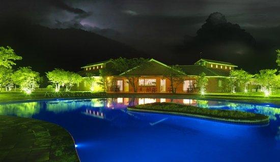 Damara Mopane Lodge by Night