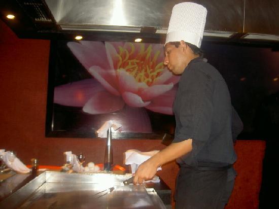 Ocean Coral & Turquesa: Sensai restaurant